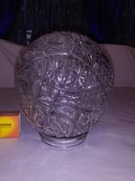Retro üveg gömb lámpabúra