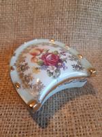 PM porcelán patkó alakú bonbonier, gyűrűtartó