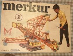 Merkur  játék doboz