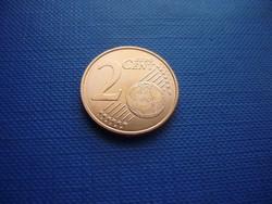SPANYOLORSZÁG 2 EURO CENT 2020! UNC! RITKA!