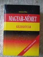 Magyar német kéziszótár, Alkudható