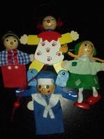 Kézműves játékok,bábok