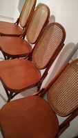 Thonet magastámlás szék 4 vagy 5 vagy 6 darab
