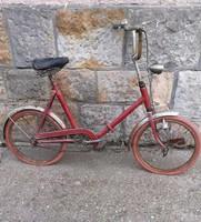 Retro Camping bicikli,kerékpár,Felújításra szorul.