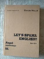 Csonka: Let's speak English, III., Alkudható