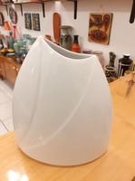 Hollóházi Porcelán Stúdió retro váza