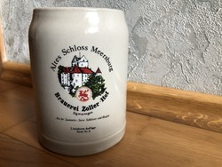 Altes Schloss Meersburg - limitált 3. kiadás 1987 kerámia sörös korsó  7.
