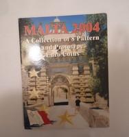 Málta Euro Forgalmi sor 2004 Próba tervezet