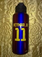 FC Barcelona 11 Neymar Jr. fém kulacs ivópalack sport relikvia