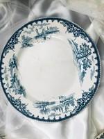 Francia fajansz tányér
