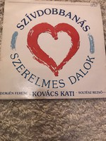 Szívdobbanás - Szerelmes dalok bakelit lemez