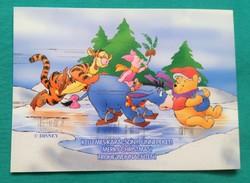 Walt Disney képeslap,mesefigura