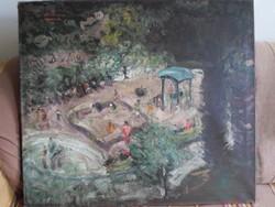 Parkot ábrázoló festmény