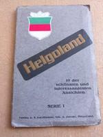 Képeslap füzet Helgoland