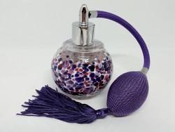 Retro stílusú parfümös üveg (Purple Haze)