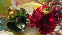 Karácsonyfadisz 2 db fodros szépség