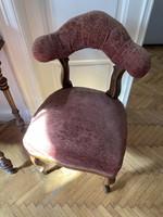 Biedermeier szék eredeti állapotában