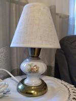 Jelenetes porcelán lámpa