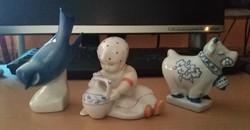 Zsolnay porcelán figurák