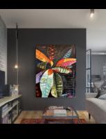 D. Szabó ART modern festmény 100cm x 130cm