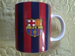 FC Barcelona kerámia bögre porcelán pohár