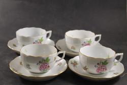 Herendi eton mintás teás csészék aljjal 462