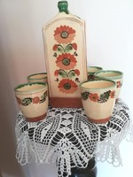 Karcagi butella poharakkal