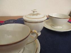Schönwald aranyozott teás szett