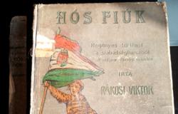 Regény- A Szabadságharcról  - antik 1902-as könyvtárbélyegzővel