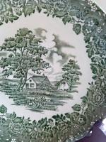 """""""Country Style""""(Vidéki Stílus) mintával, Grindley Staffordshire tányér"""