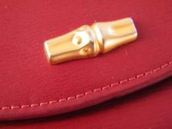 Vintage Longchamp bőr pénztárca