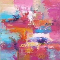 """""""REFLECTION I."""" Absztrakt festmény Egyedi, eredeti alkotás!Szignózott,Közvetlen a művésztől!"""
