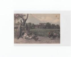Üdvözlő képeslap 1927