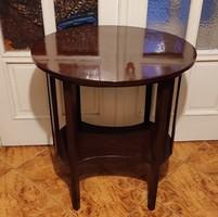 Thonet,jelzett gyönyörű ovàl asztal Szalon(,Josef Hoffmann Mondus) Luxus bútor 1910 környékén