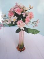 Bouquet of beautiful silk flowers