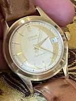 Különleges Doxa 14 kr arany automata karóra eladó!Ara:399.000.-