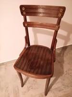 Thonet,Thonett,Tonet antik szék,jelzett