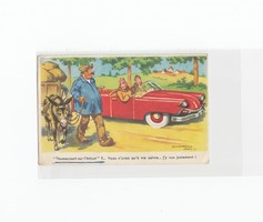 Humoros Üdvözlő képeslap 1938