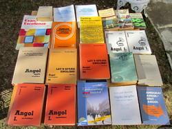 Angol nyelvkönyv, szótár - válogass