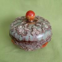 Olasz kő kerámia bonbonier, doboz