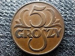 Lengyelország 5 groszy 1938 W (id45435)