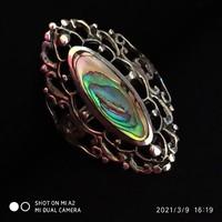 Gyönyörű ezüst gyűrű (56)