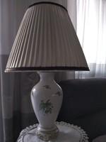 Herendi asztali lámpa hecsedli mintával
