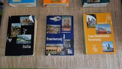 Panoráma útikönyvek sorozat 23 példánya.500.-Ft darabja.