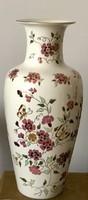 Zsolnay pillangó mintás váza 41 cm