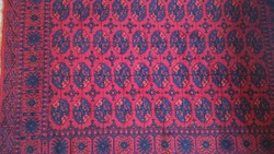 Bokhara mintás perzsa szőnyeg csodás színekben