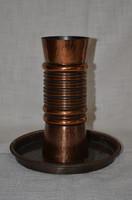Jelzett Iparművészeti váza és tálca  ( DBZ 0092 )