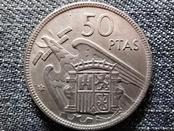 Spanyolország Francisco Franco (1936-1975) 50 Peseta 1957 1959 (id44170)