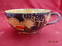 Japán porcelán tojáshéj vékony teáscsésze, átmérője 9,5 cm.
