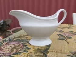 Gyönyörű fehér  porcelán szószos kiöntő , nosztalgia Gyűjtői darab
